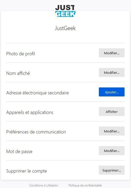 Activer la double authentification sur votre compte Firefox étape 3