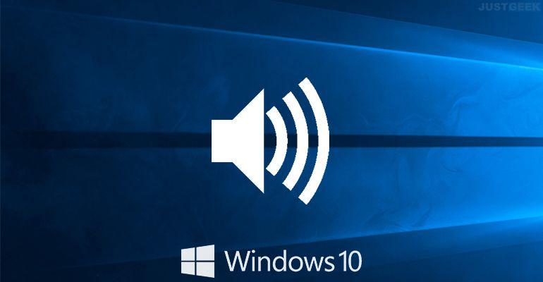 Windows 10 : Définir un périphérique de sortie audio pour chaque application