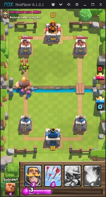 Clash Royale sur NoxPlayer
