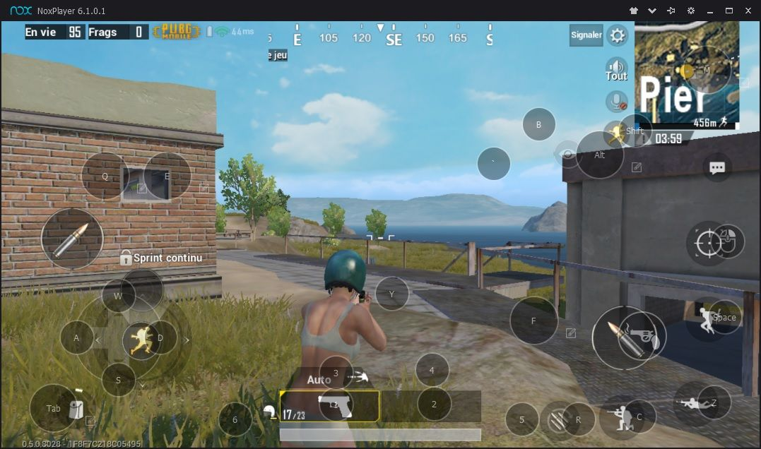 PUBG sur NoxPlayer