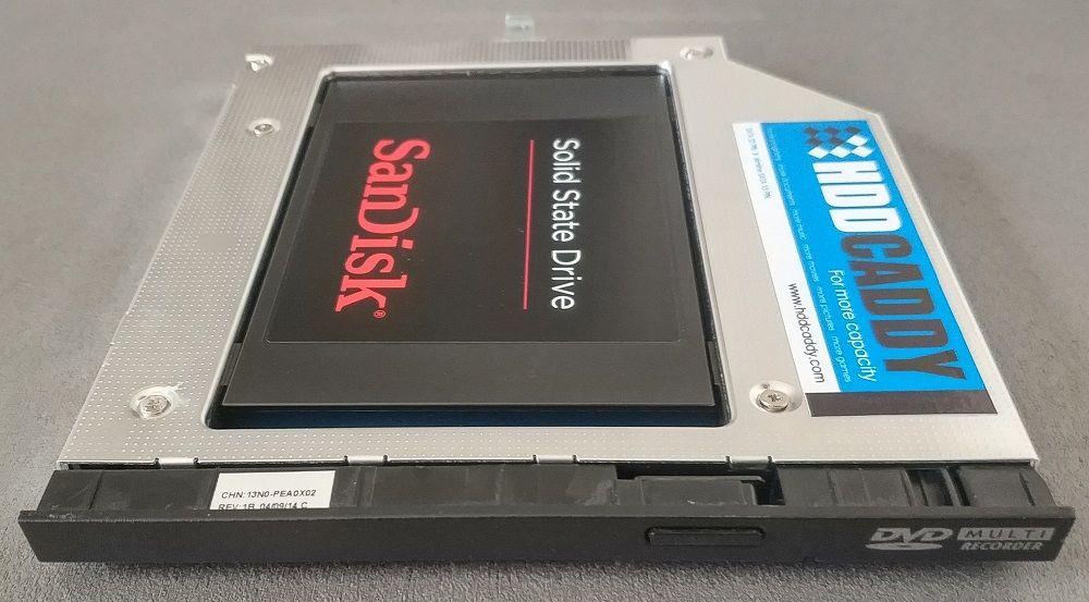 Disque SSD dans berceau