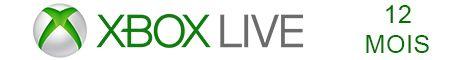 Xbox Live 12 mois pas cher