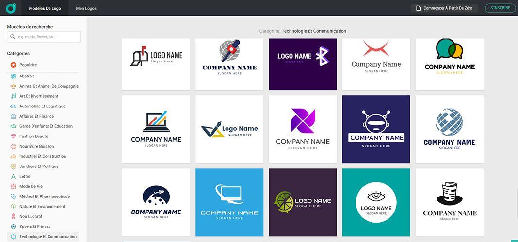 Créer un logo en ligne sur DesignEvo.com