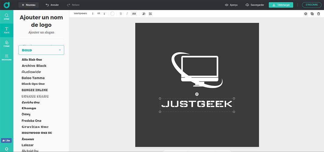 Création de logo gratuit
