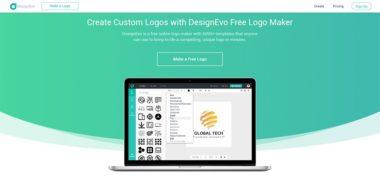 DesignEvo website