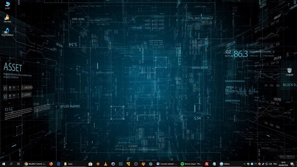 Rainwallpaper Des Fonds D Ecran Animes Qui Donne Vie A Votre Bureau Windows Justgeek