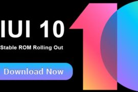 MIUI 10 Global Stable ROM Download