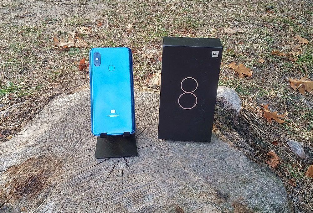 Packaging Xiaomi Mi 8