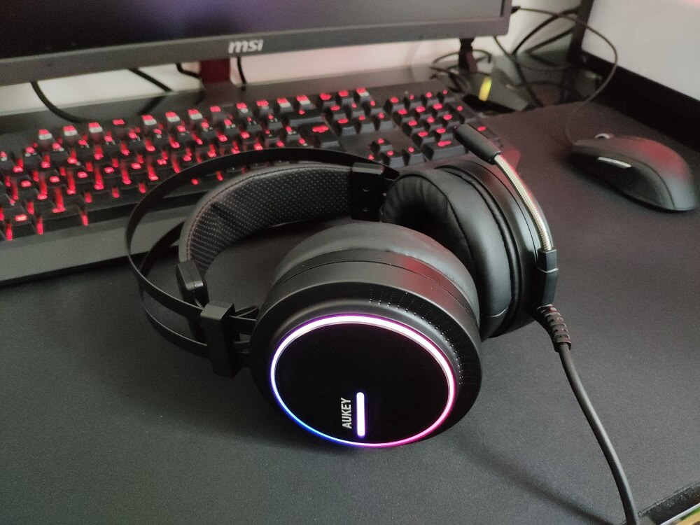 Test du casque gamer AUKEY GH-S5