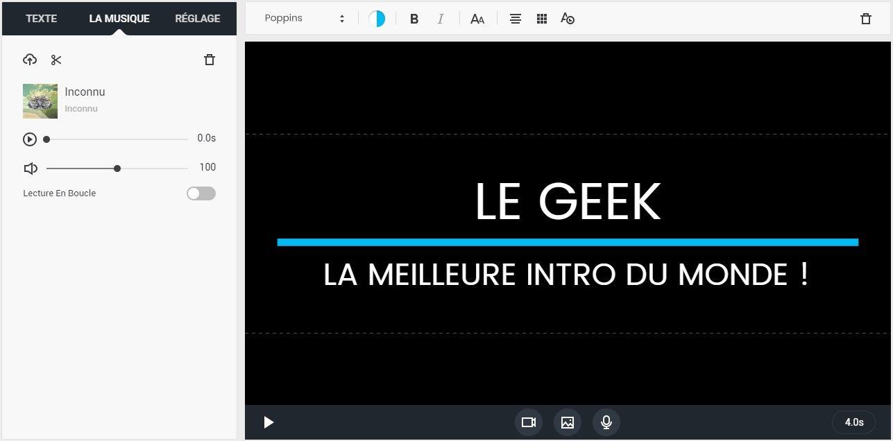 FlexClip : Montage vidéo en ligne