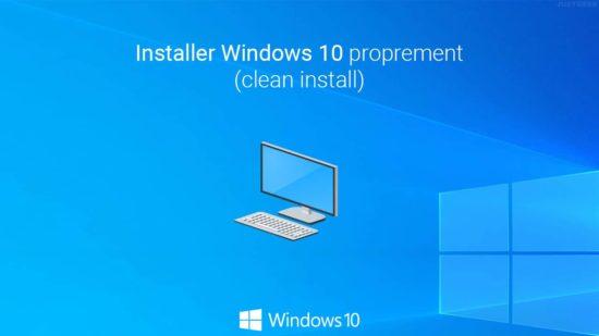 Installer Windows 10