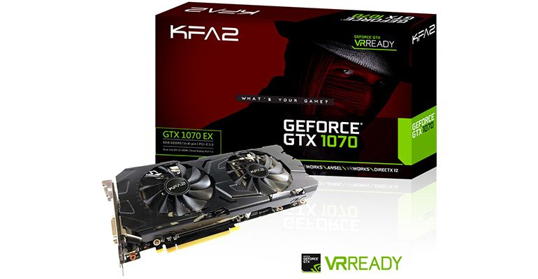 KFA2 GeForce GTX 1070 EX 8GB