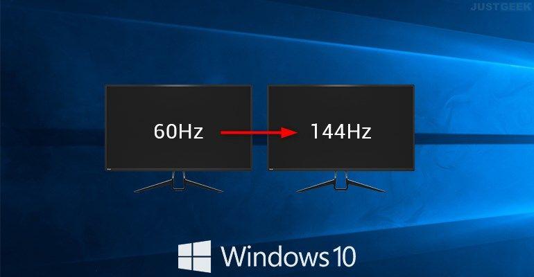 Windows 10 : Régler la fréquence de rafraîchissement de son écran