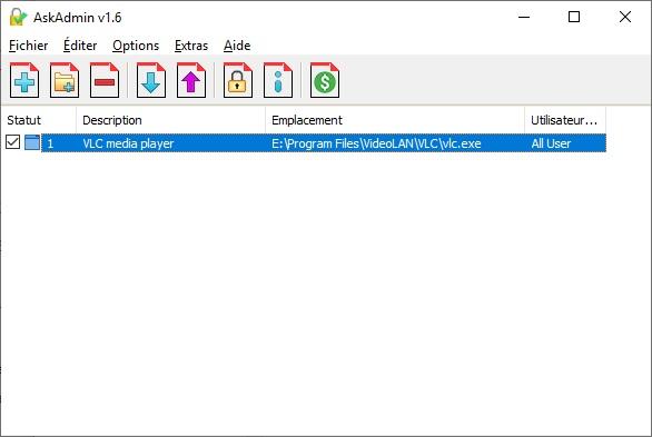 Empêcher l'accès à certains logiciels avec AskAdmin