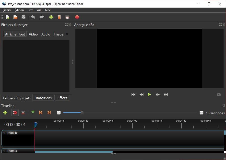 OpenShot : Logiciel de montage vidéo