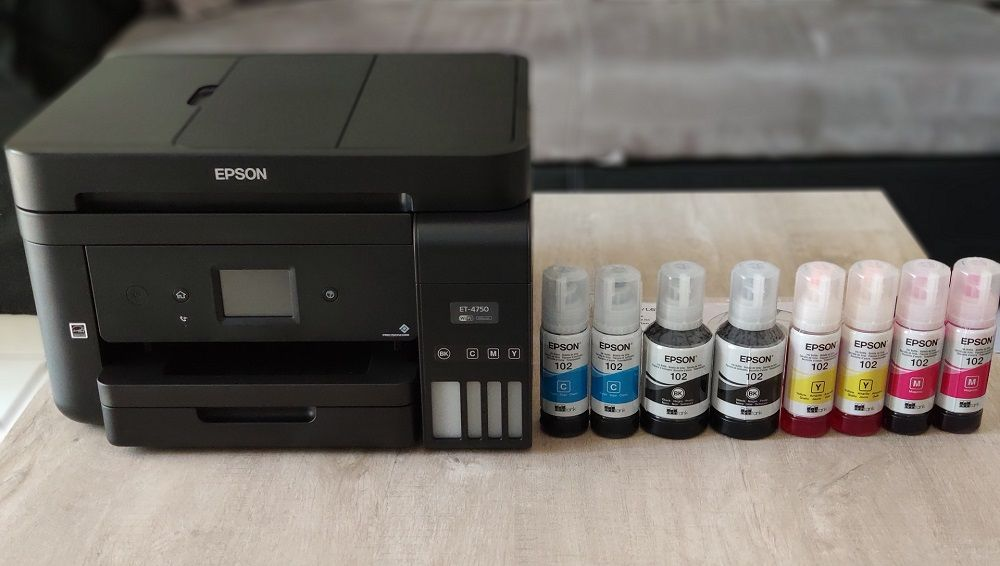 Test Epson EcoTank ET-4750