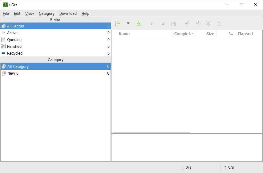 uGet : un gestionnairede téléchargement simple et gratuit