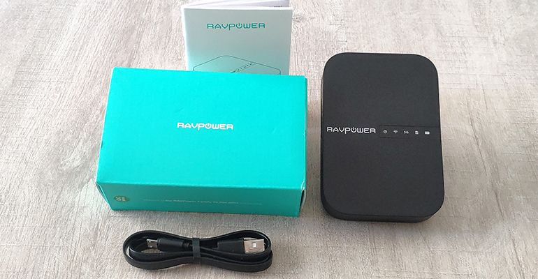 Test RAVPower Filehub AC750