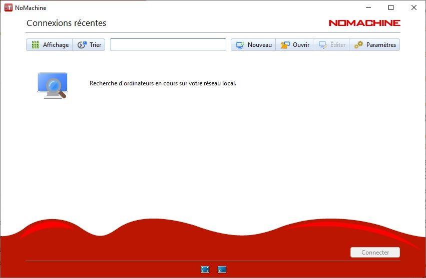 NoMachine : logiciel de contrôle à distance