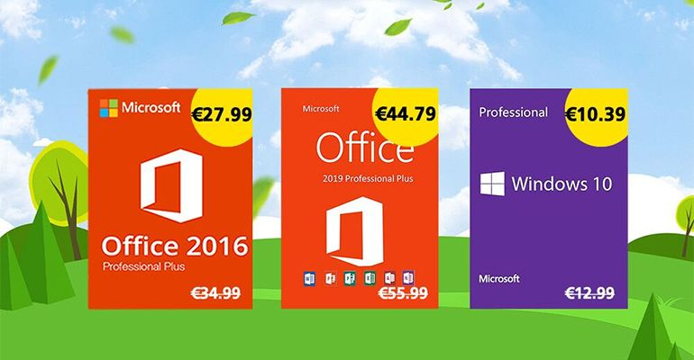 Acheter une licence Windows 10 Pro au prix exceptionnel de 10,39€