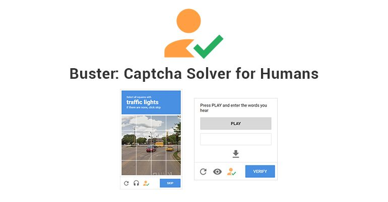 Buster: Captcha Solver for Humans