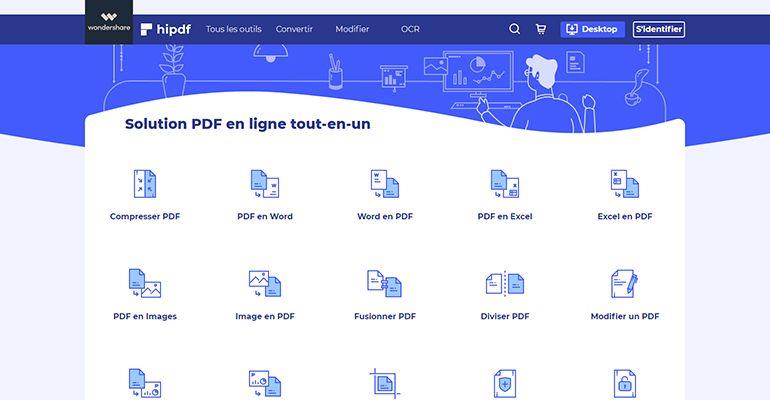 Hipdf.com : Solution PDF en ligne tout-en-un