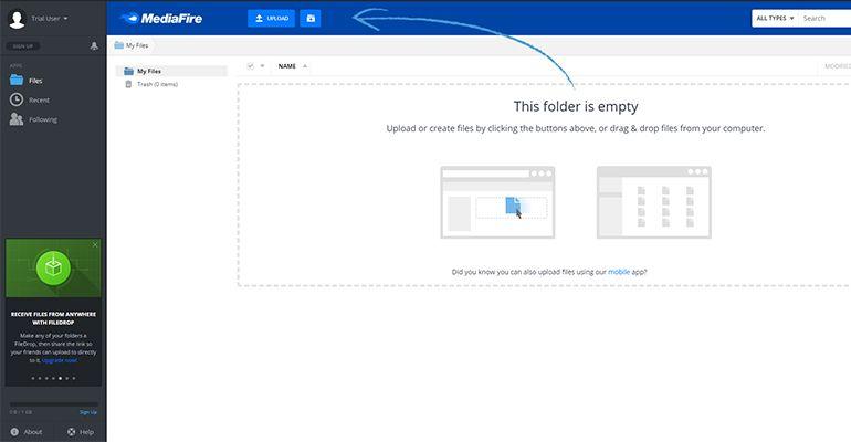 MediaFire.com : Partage de fichiers et stockage simplifié