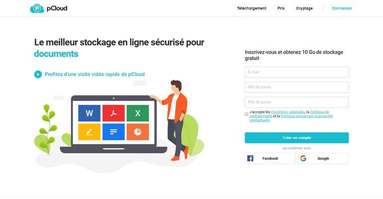 pCloud.com : Le meilleur stockage en ligne sécurisé