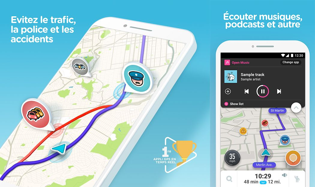 Waze : Application de navigation GPS pour Android et iPhone