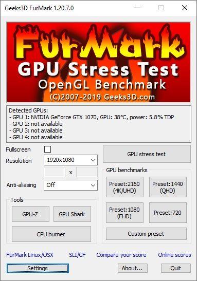 Geeks3D FurMark