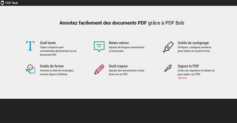 Annoter PDF en ligne - PDFBob.com