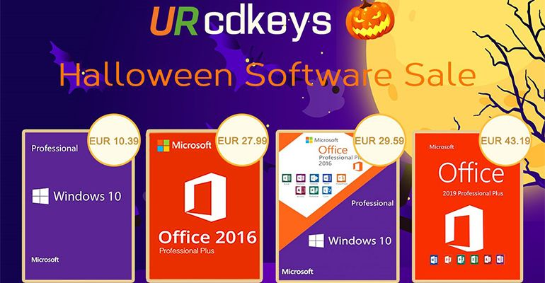 URcdkey : Promotions logiciels Halloween
