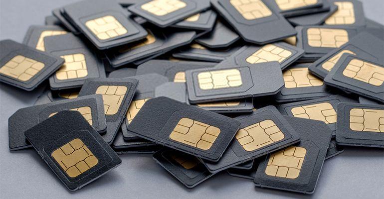 Lot de cartes SIM