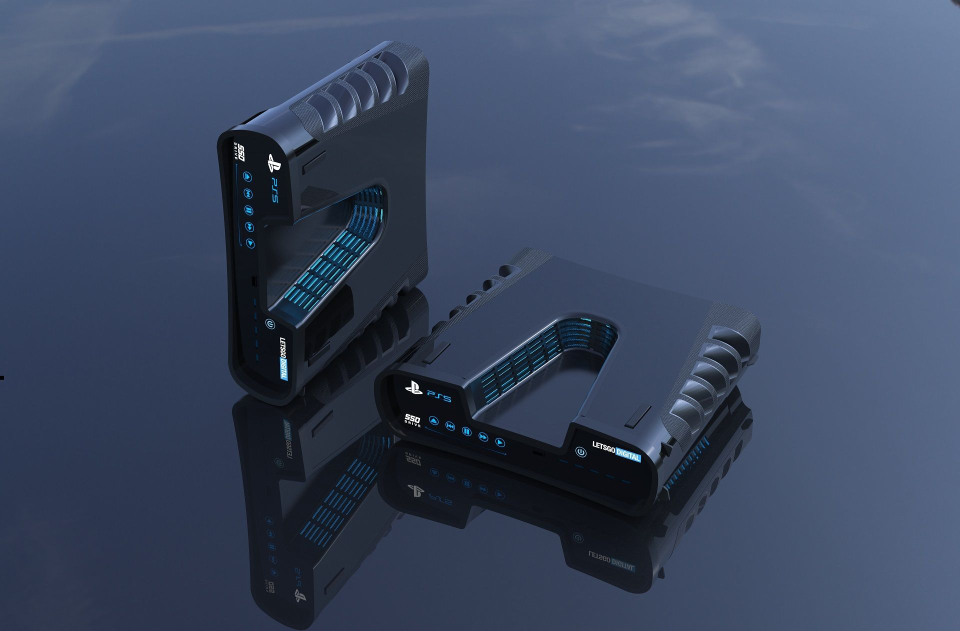 PlayStation 5 (PS5) design