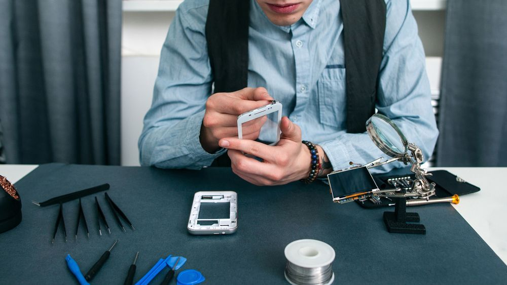 Réparation d'un smartphone