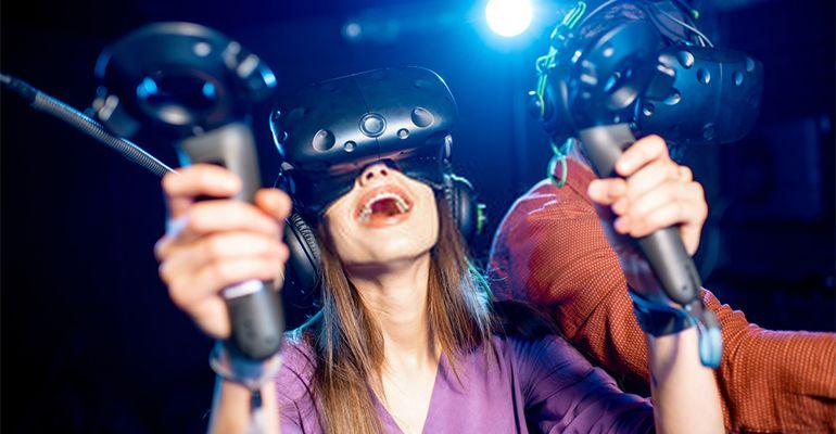 Salle de réalité virtuelle