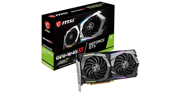 MSI NVIDIA GeForce GTX 1660 Super Gaming X