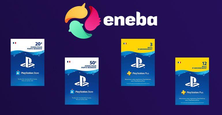 Promotions Eneba : Carte PSN et PS Plus pas cher