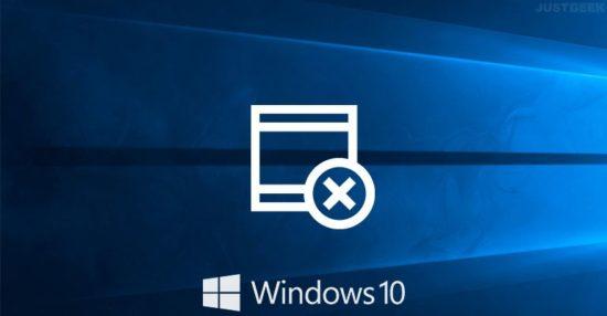 Forcer la fermeture d'un logiciel bloqué qui ne répond pas sous Windows 10
