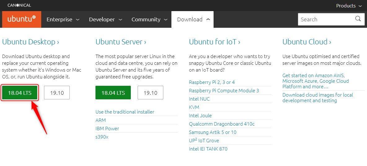 Télécharger Ubuntu