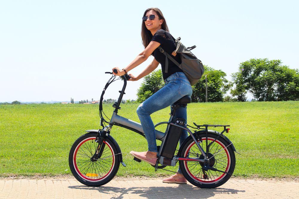 Vélo électrique sur voie publique