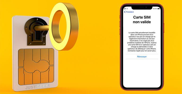Déverrouiller iPhone simlocké