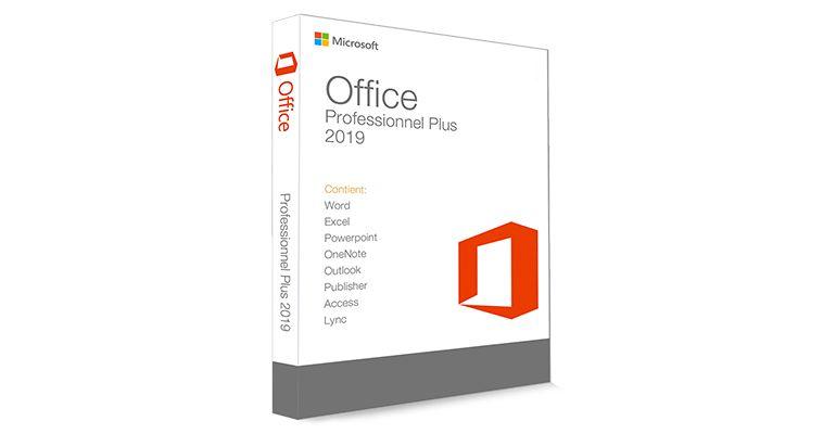 Office Professionnel Plus 2019 pas cher
