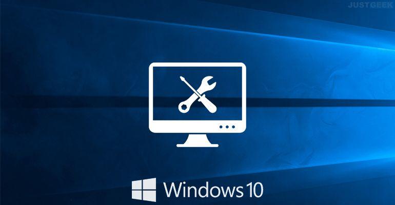 Tutoriel pour réparer Windows 10