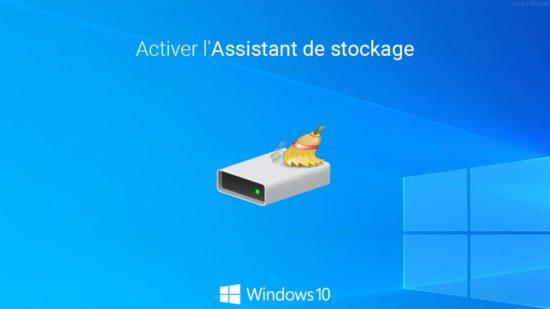 Windows 10 : libérer automatiquement de l'espace disque sur votre HDD et/ou SSD