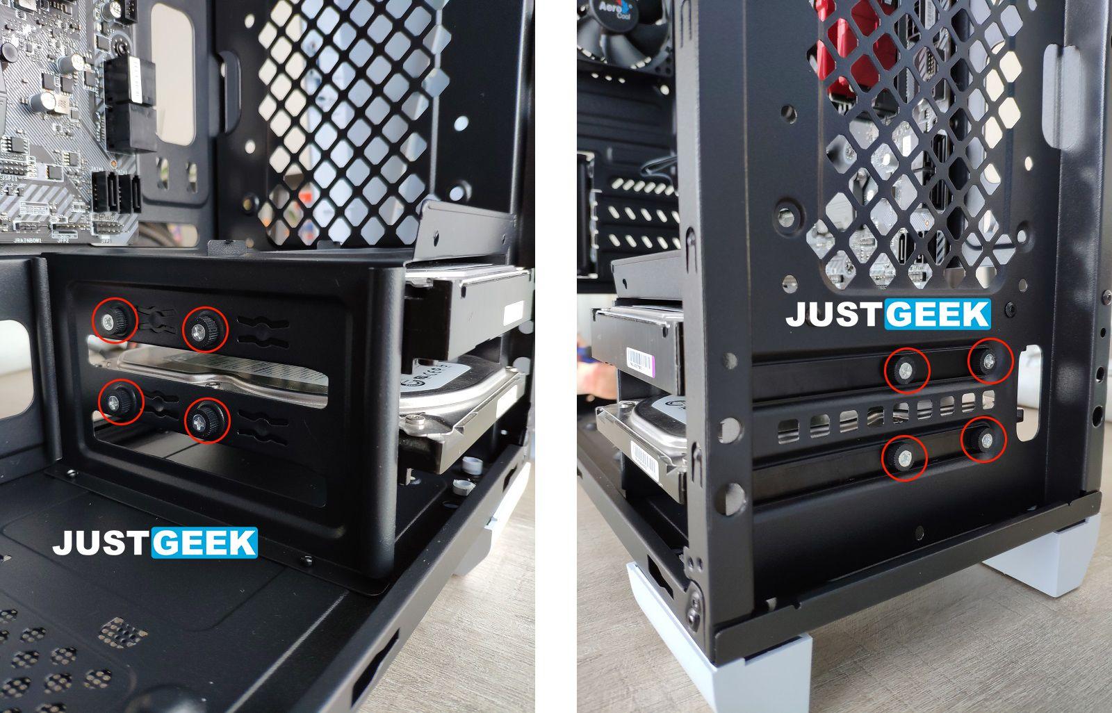 Tutoriel montage PC : Installer un disque dur dans un boîtier PC