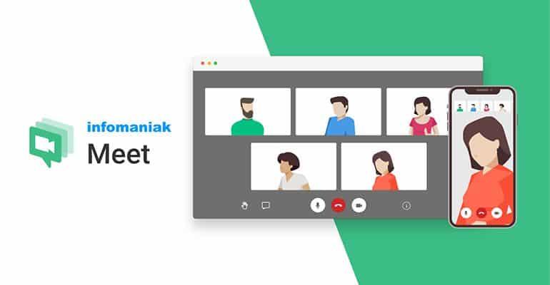 Infomaniak Meet : Service de visioconférence gratuit et sécurisé