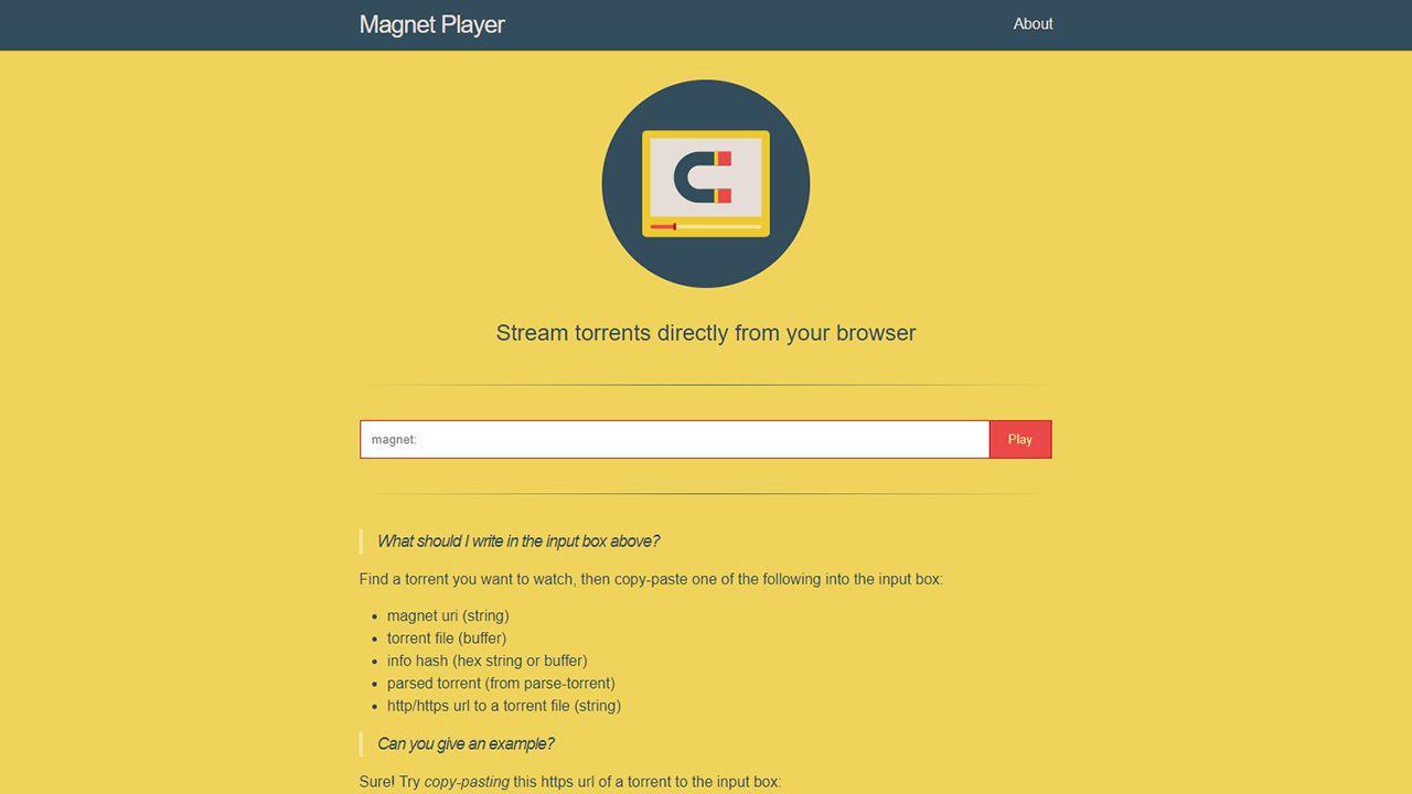 Magnet Player : Stream torrents en ligne