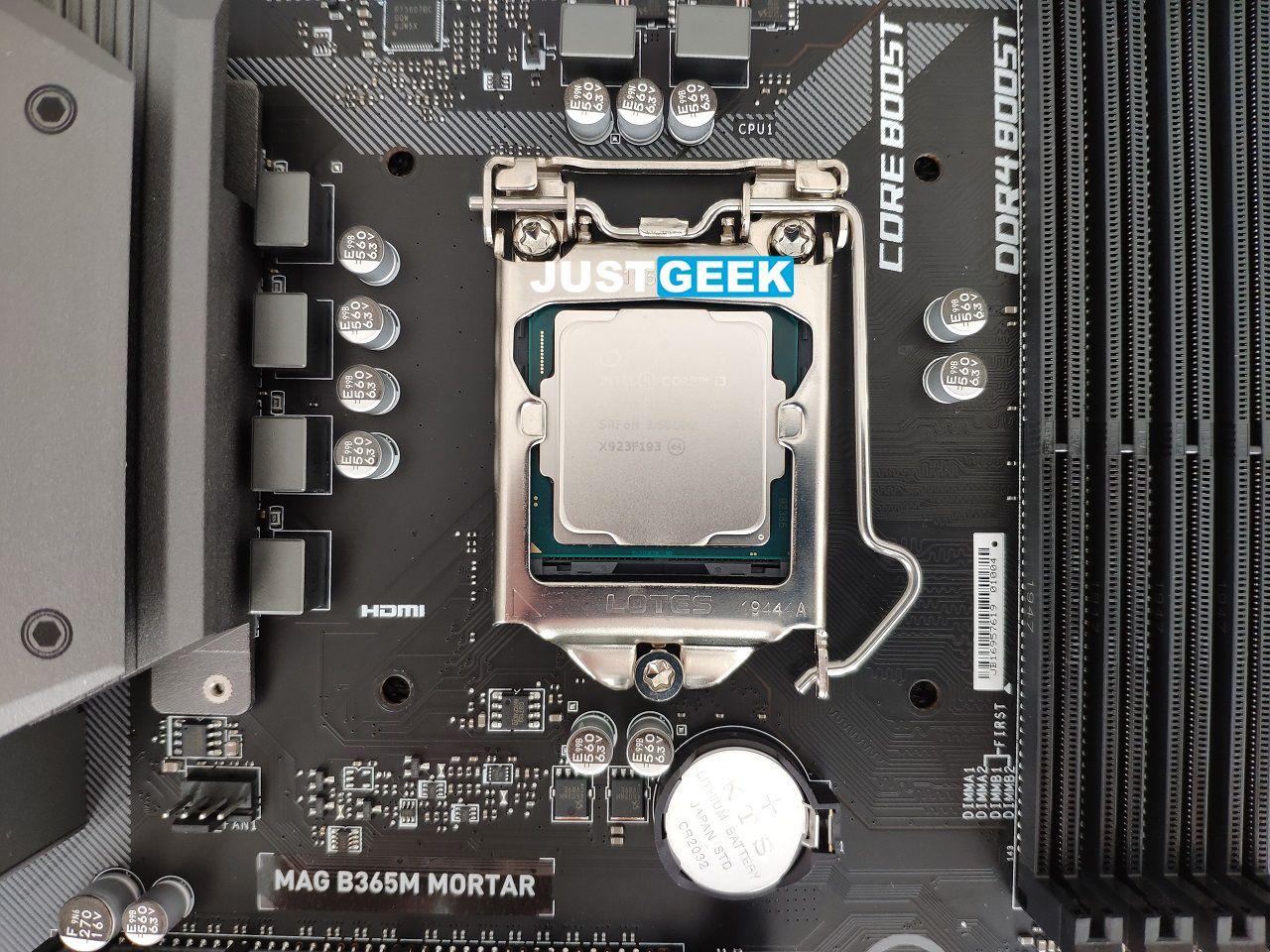 Tutoriel montage PC : Mise en place du processeur dans le socket de la carte-mère