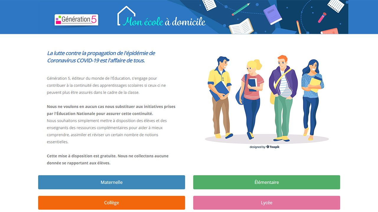 Mon école à domicile : Travailler à la maison